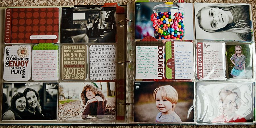 Another Project Life layout www.schonakesslerphotography.com/blog
