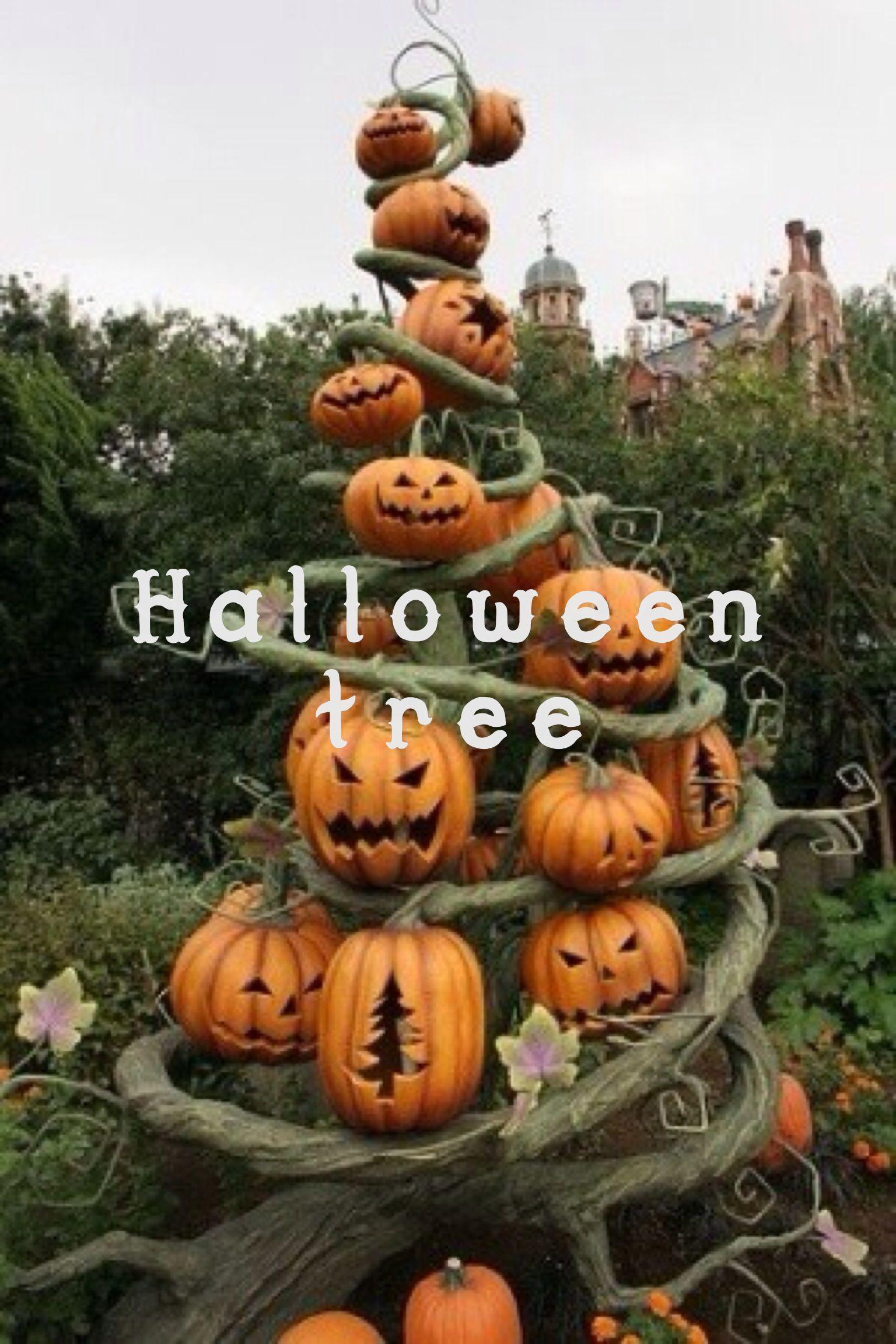 Spooky Halloween tree Halloween Pinterest Halloween trees - Spooky Halloween Decorations