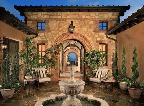 Innovative Tuscan Backyard Landscaping Ideas Mediterranean