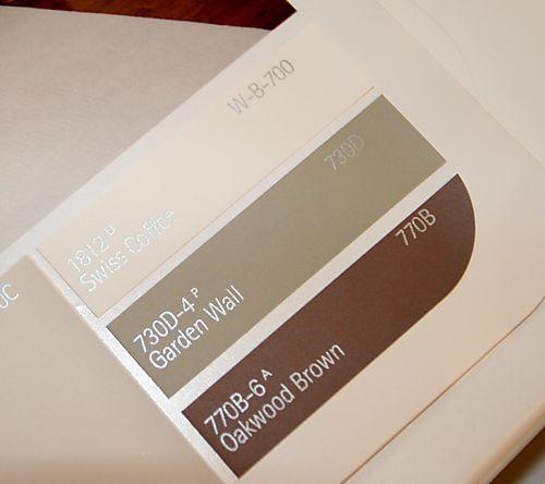 Home Depot Behr Premium Plus Interior Paint 730c 2 Sandstone Cove 1812 Swiss Coffee 730d 4