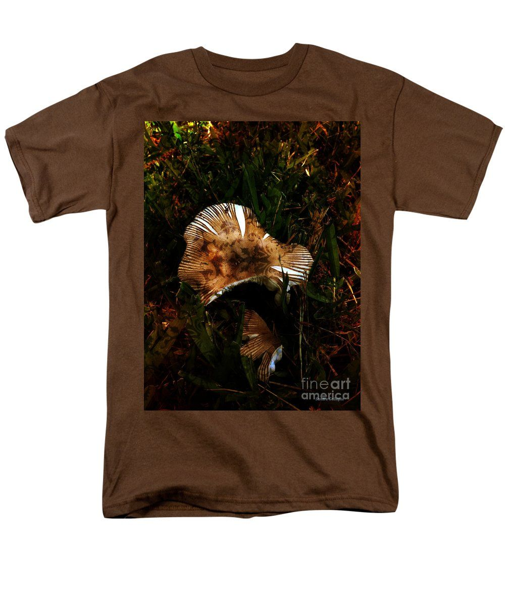 Beautiful T-Shirt featuring the photograph Magic Mushroom For Alice by Sandra Gallegos
