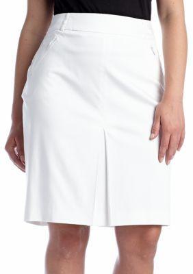 Jones New York Collection  Plus Size Zipper Pencil Skirt