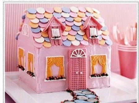 Dollhouse Cake Cakes Cake Birthday Cake House Cake
