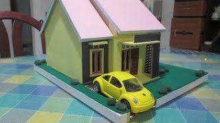 Hasil Gambar Untuk Cara Membuat Rumah Dari Kardus Keperluan Rumah