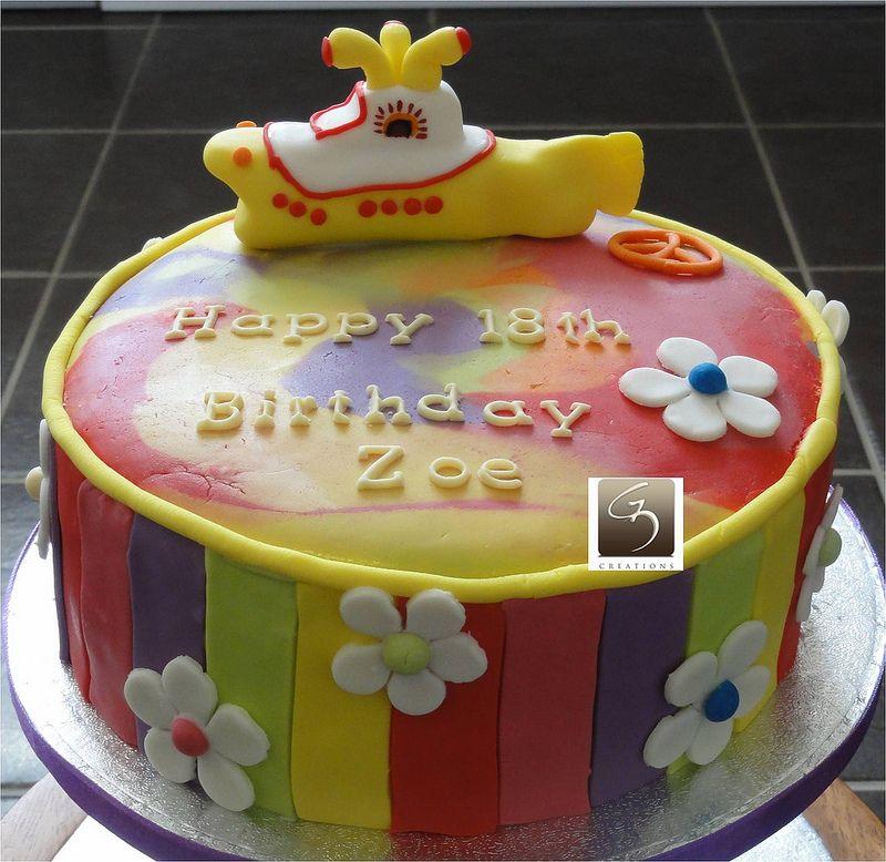 Yellow Submarine Birthday Cake Birthday Cakes Cake And Eat Cake