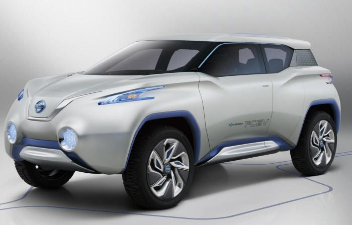 Innovative Nissan Terra Fuel Cell Electric Vehicle