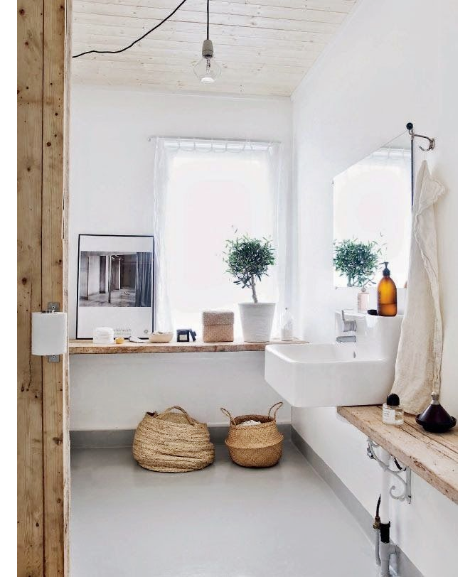 All About Interieur Inspiratie Blog: Badkamer hout | interieur ...
