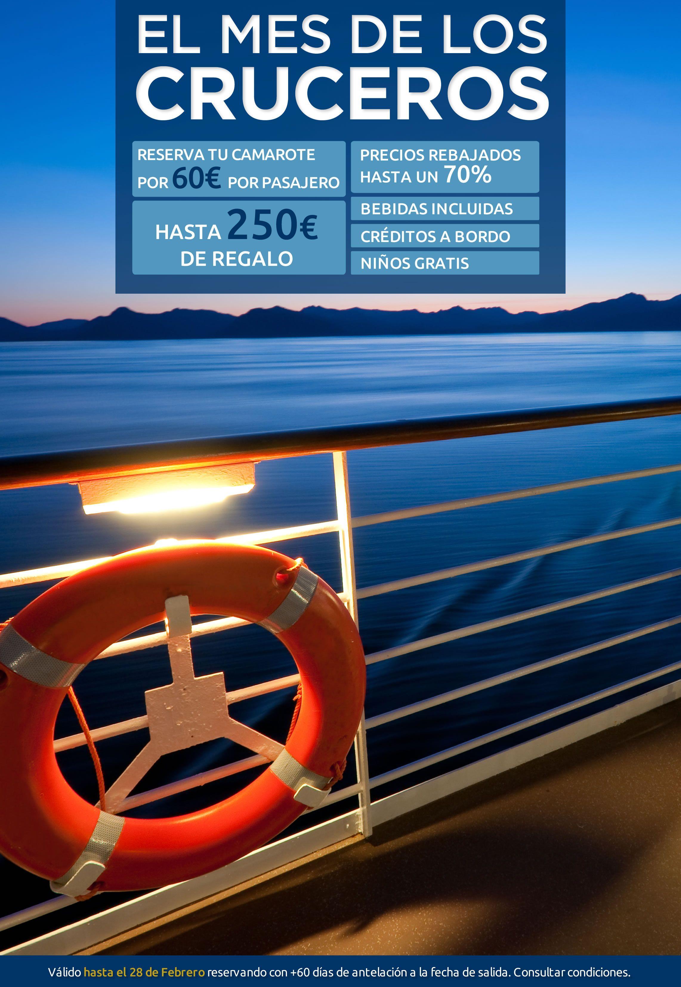 El mes del crucero ofertas ofertas de viaje pinterest - Mes del crucero ...
