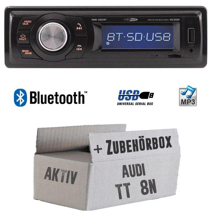 Pioneer MP3 AUX Bluetooth USB Autoradio für Audi A4 B5 bis 99 A6 C4 bis 97 A8 D2