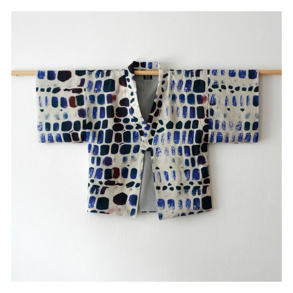 HAORI JACKETS - ZASUE | Wearable Art | Pinterest | Nähprojekte ...