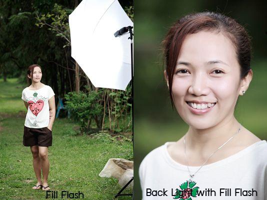 Flash portrait (Thai)