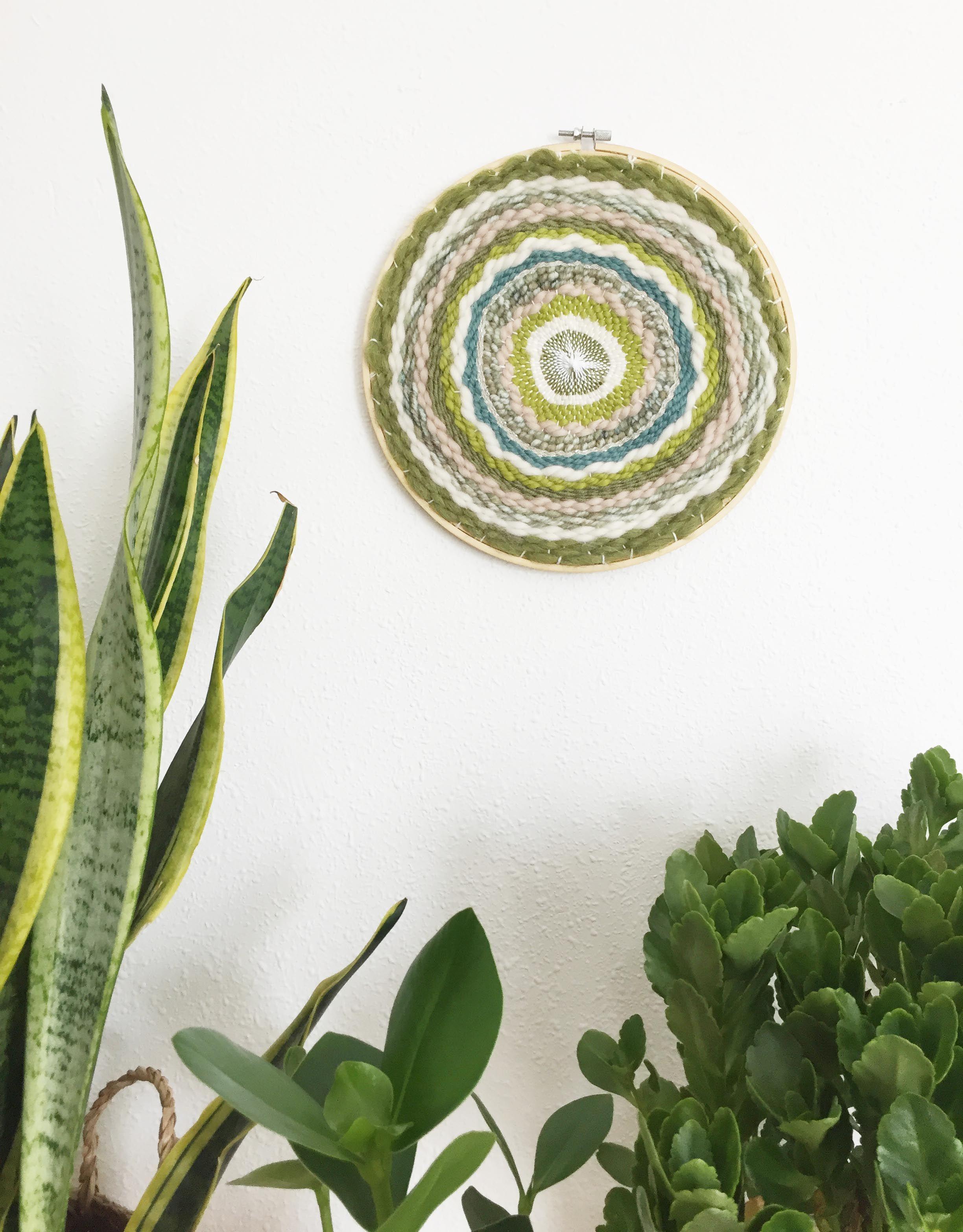 Tapiz Circular Boho Artesanal Green Love | Favorite | Pinterest ...
