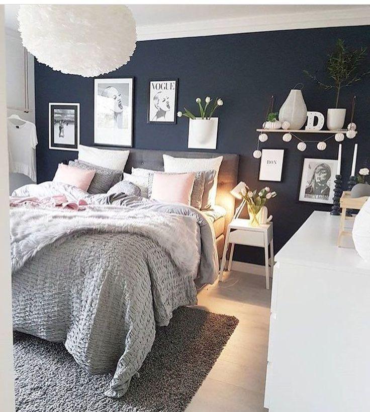 Photo of 90 Wunderschöne skandinavische Schlafzimmerdekorationen  #bedroomdecoratingidea…