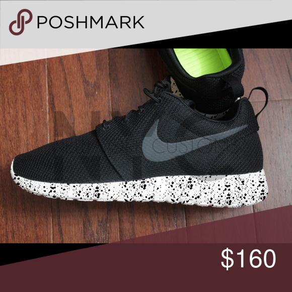 f1d73be82ad1 Black Splatter Nike Roshe One Custom Women Our asking price is firm. We won
