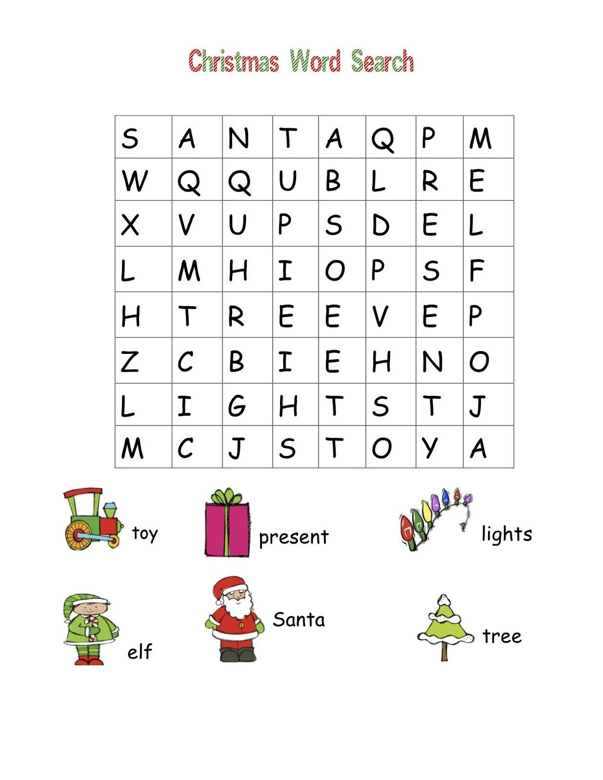 Tactueux image for kindergarten word search printable