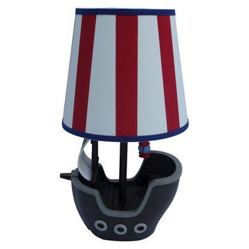 Circo Pirate Ship Table Lamp Pirate Room Pirate Lamp Table Lamp