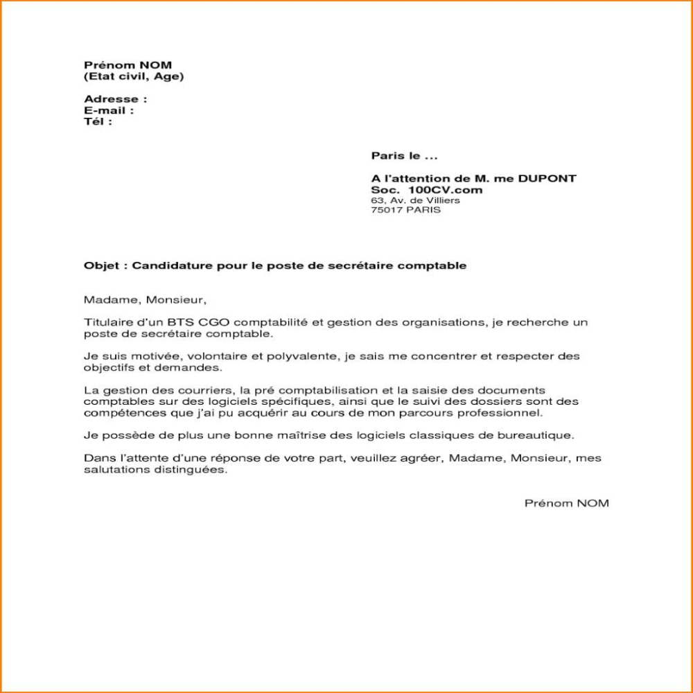 Prestement Prespiote Lettre De Motivation: Image Lettre De Motivation Classique Lettre De Motivation
