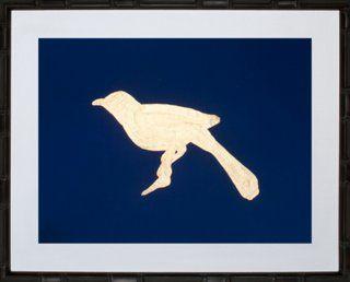 Gold-Leaf Bird IV