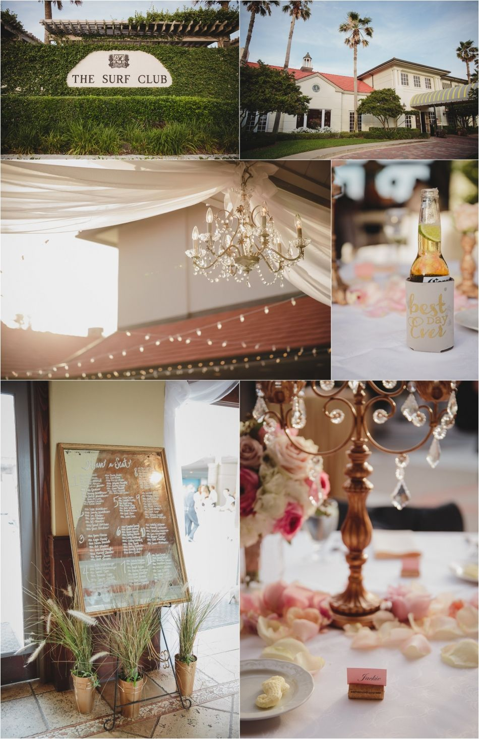 Blush And Champagne Ponte Vedra Inn Club Wedding Spa Lawn Ceremony Surf