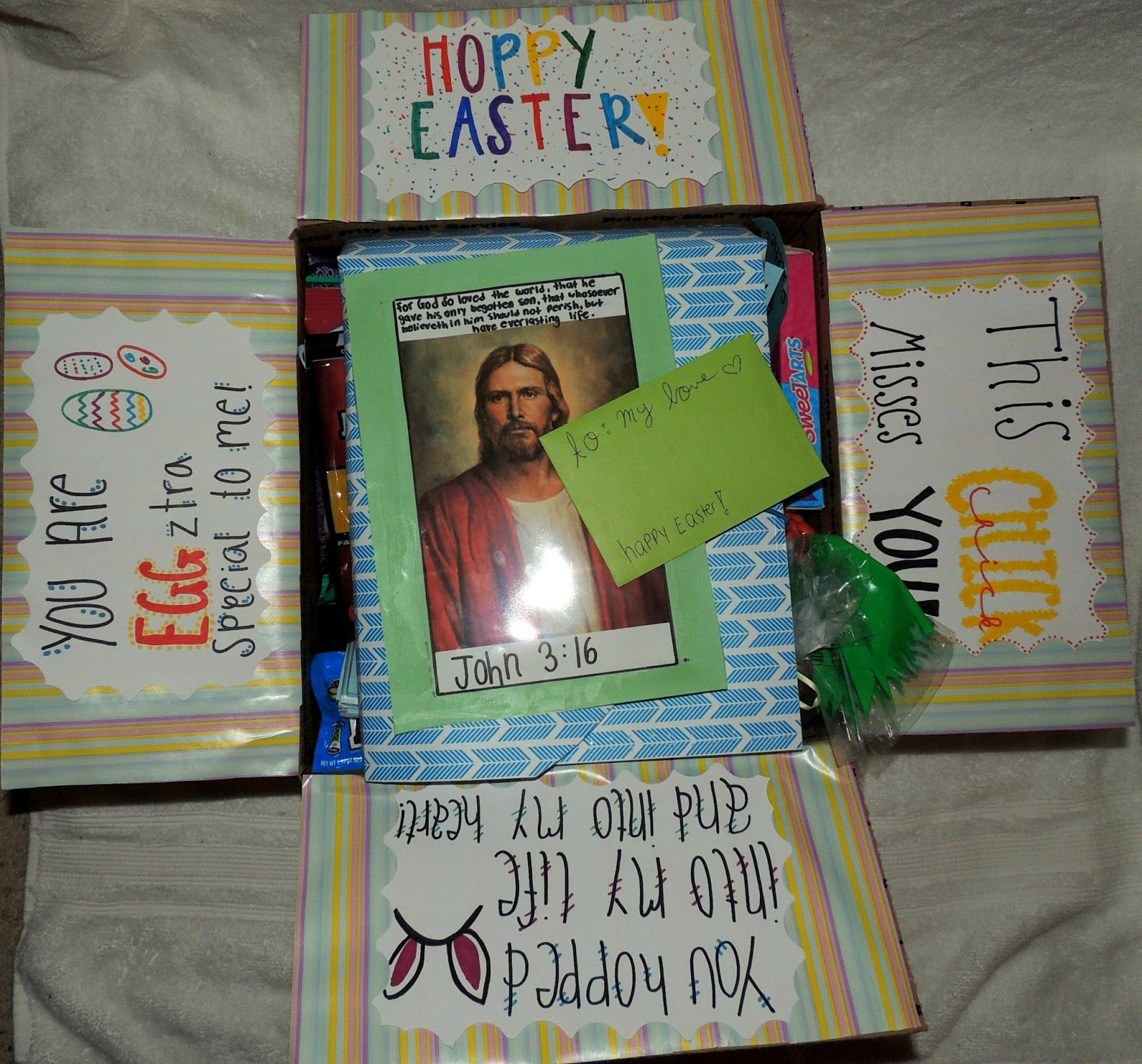 Easter package ideas for missionaries my missionary pinterest easter package ideas for missionaries negle Images