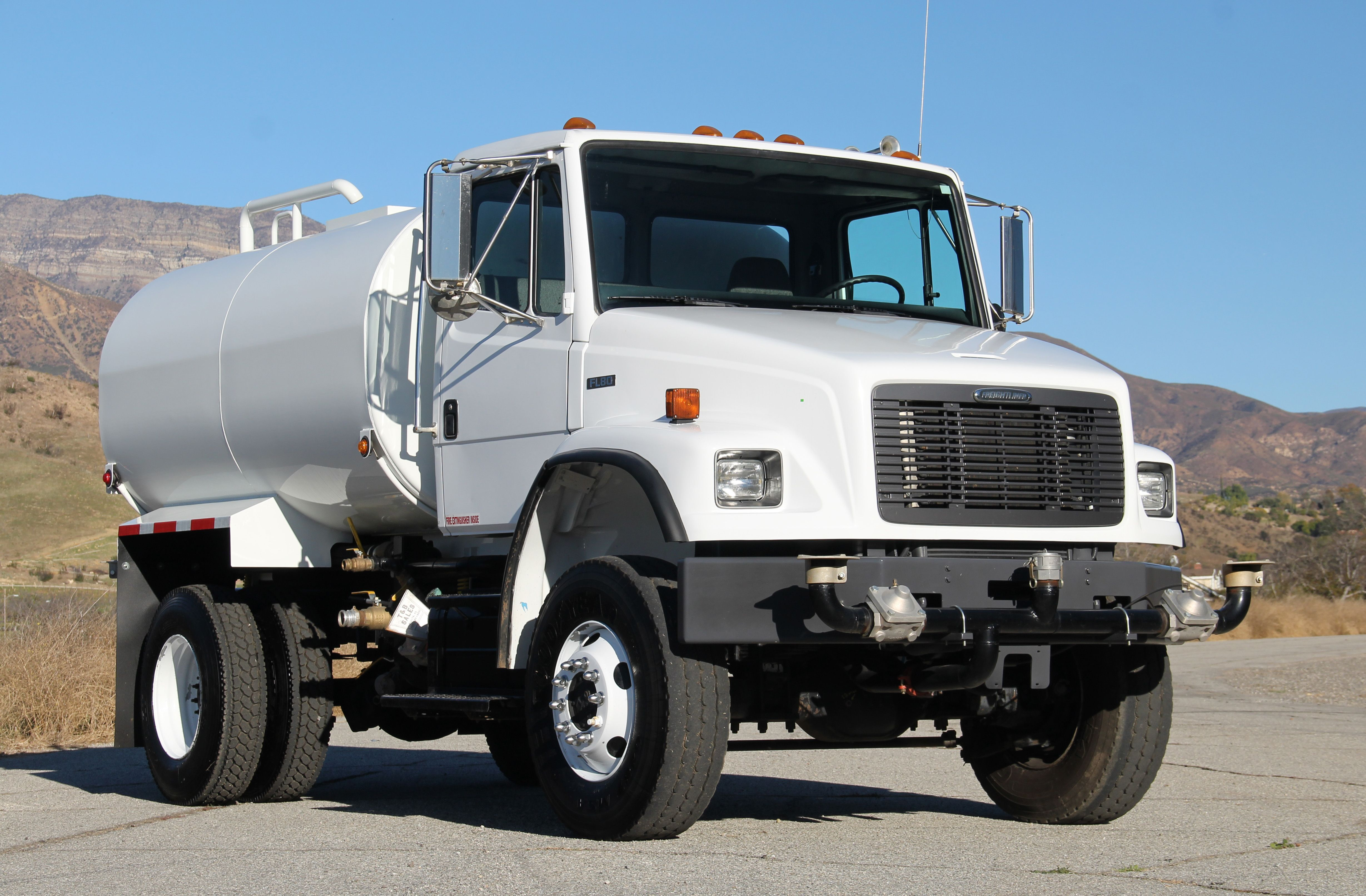 4x4 Water Truck Trucks Freightliner Heavy Equipment For Sale