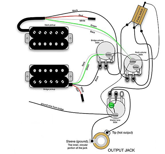 Gibson Explorer Wiring Diagram