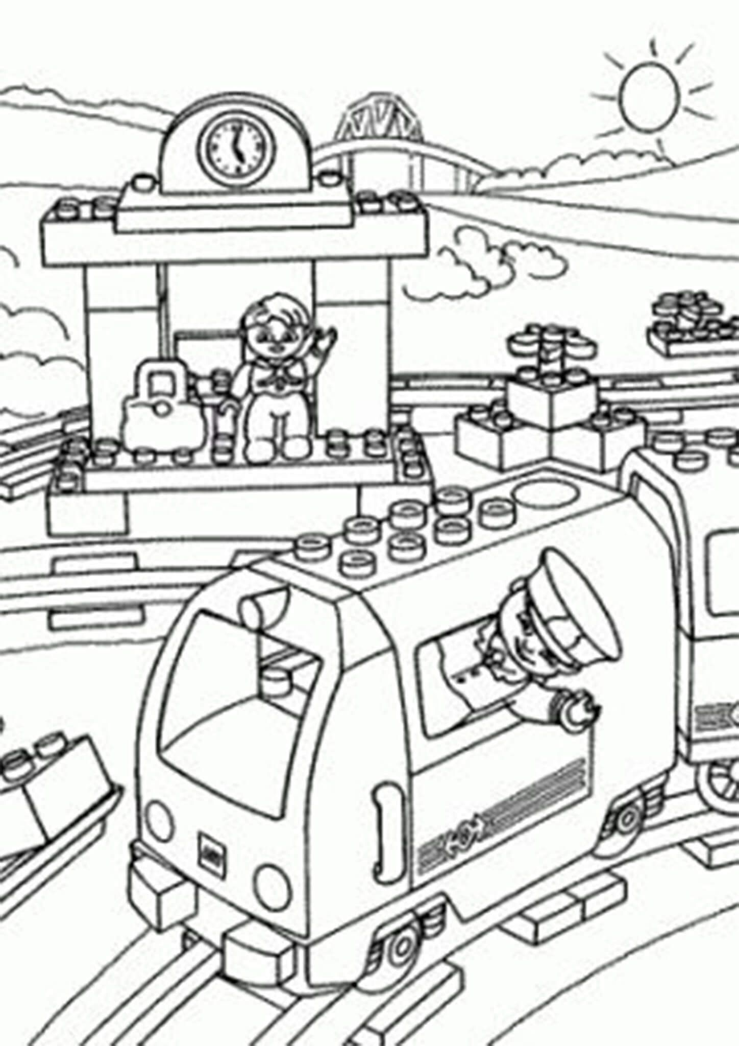 Free Easy To Print Lego Coloring Pages Lego Coloring Pages Lego Coloring Coloring Pages