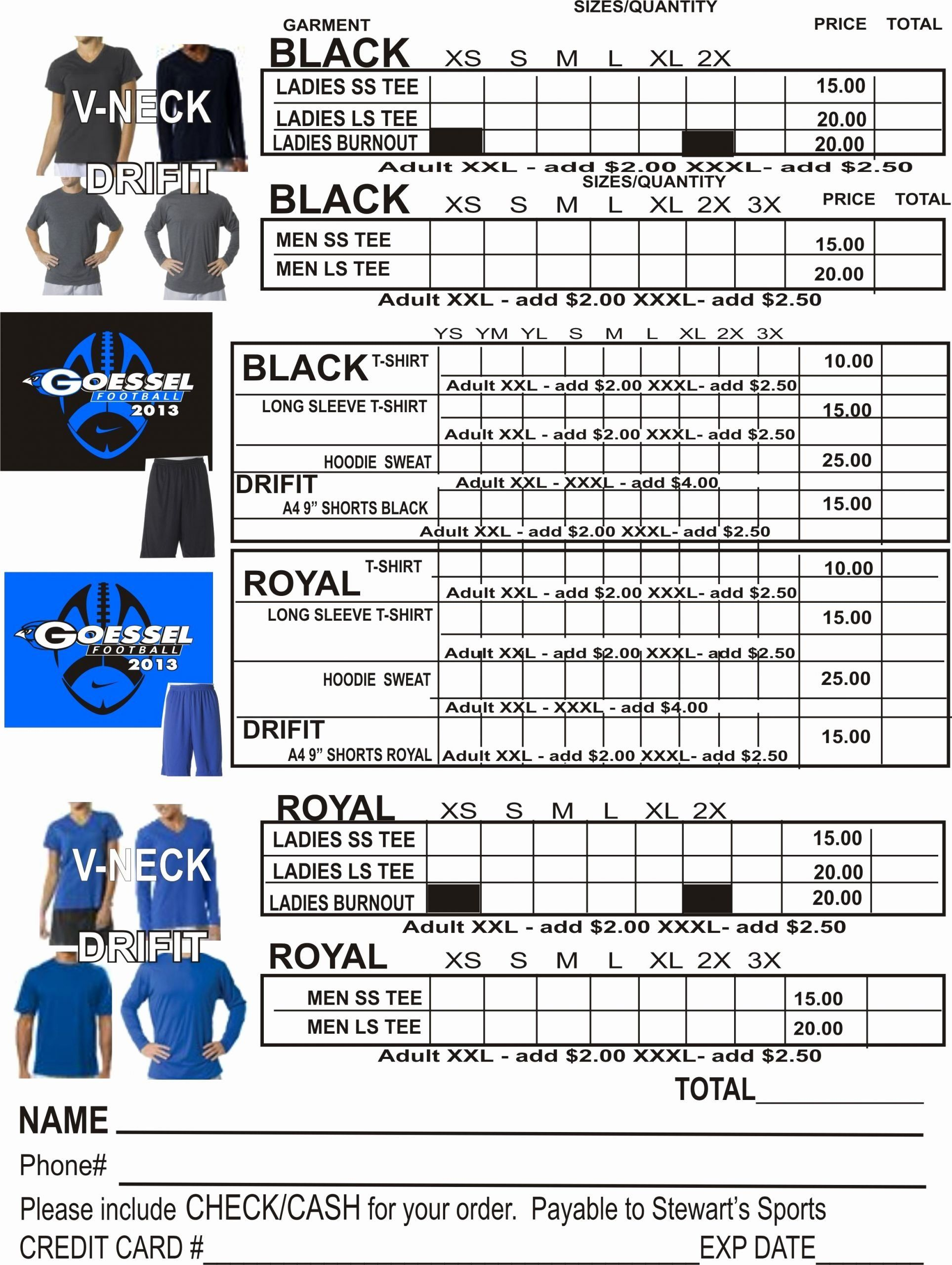 Apparel Order Form Template Free Beautiful Apparel Order Form Template Ten Advice That You Order Form Template Free Order Form Template Fundraising Order Form Apparel order form template free