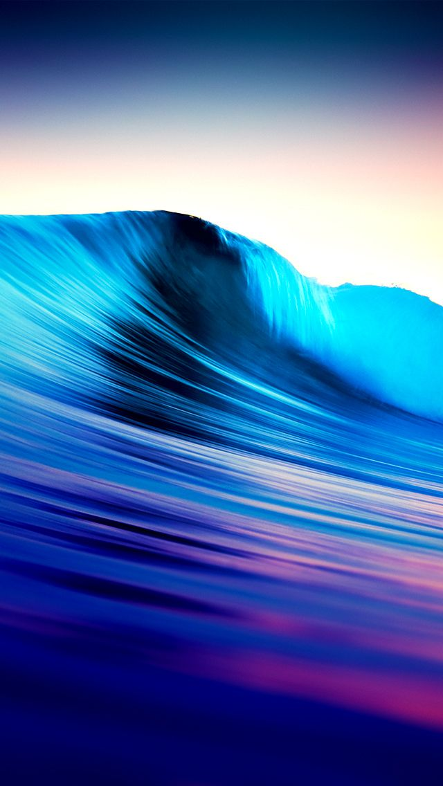 Abstract Sea Wave IPhoneWallpaper