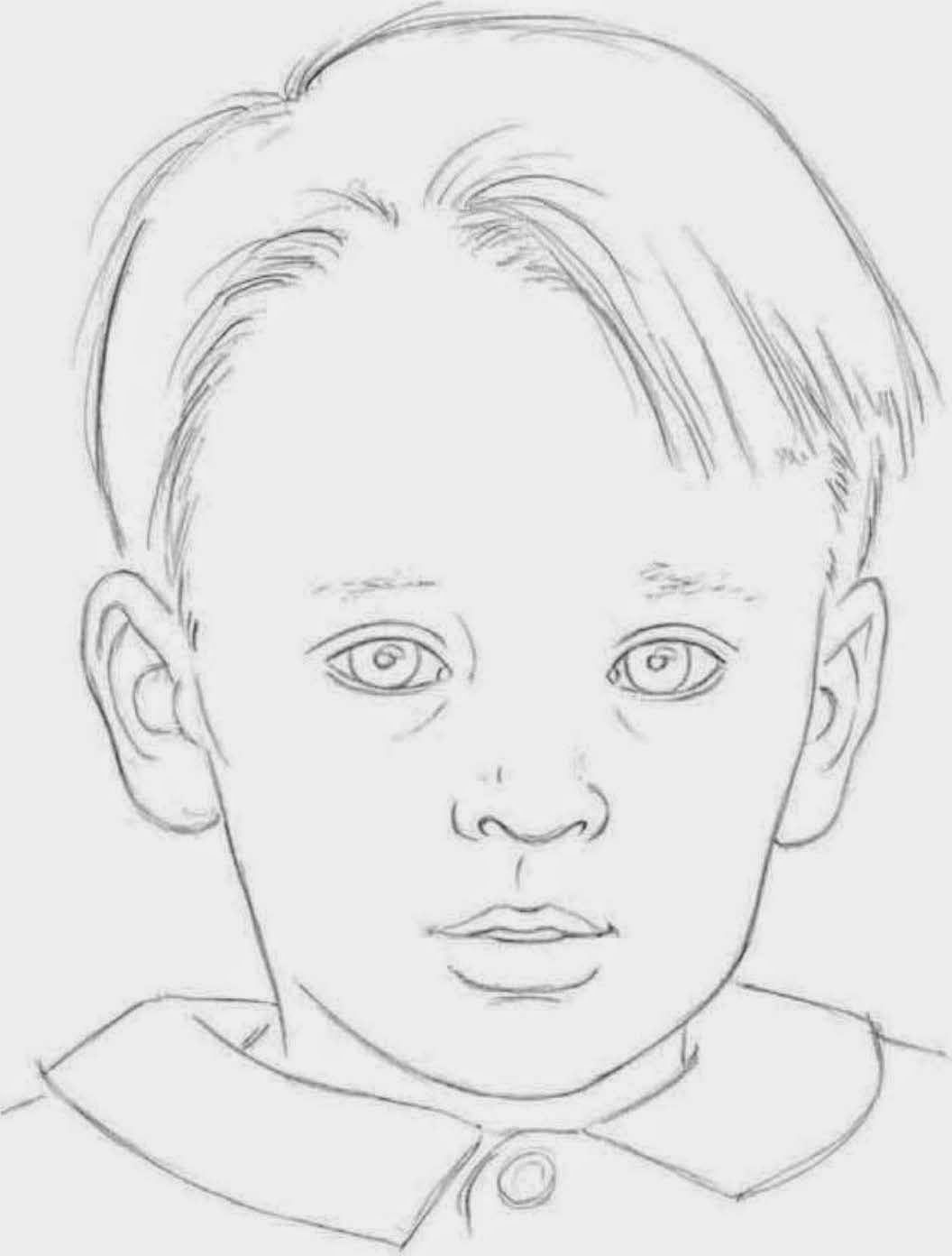 Children S Facial Proportions Children S Proportions Are