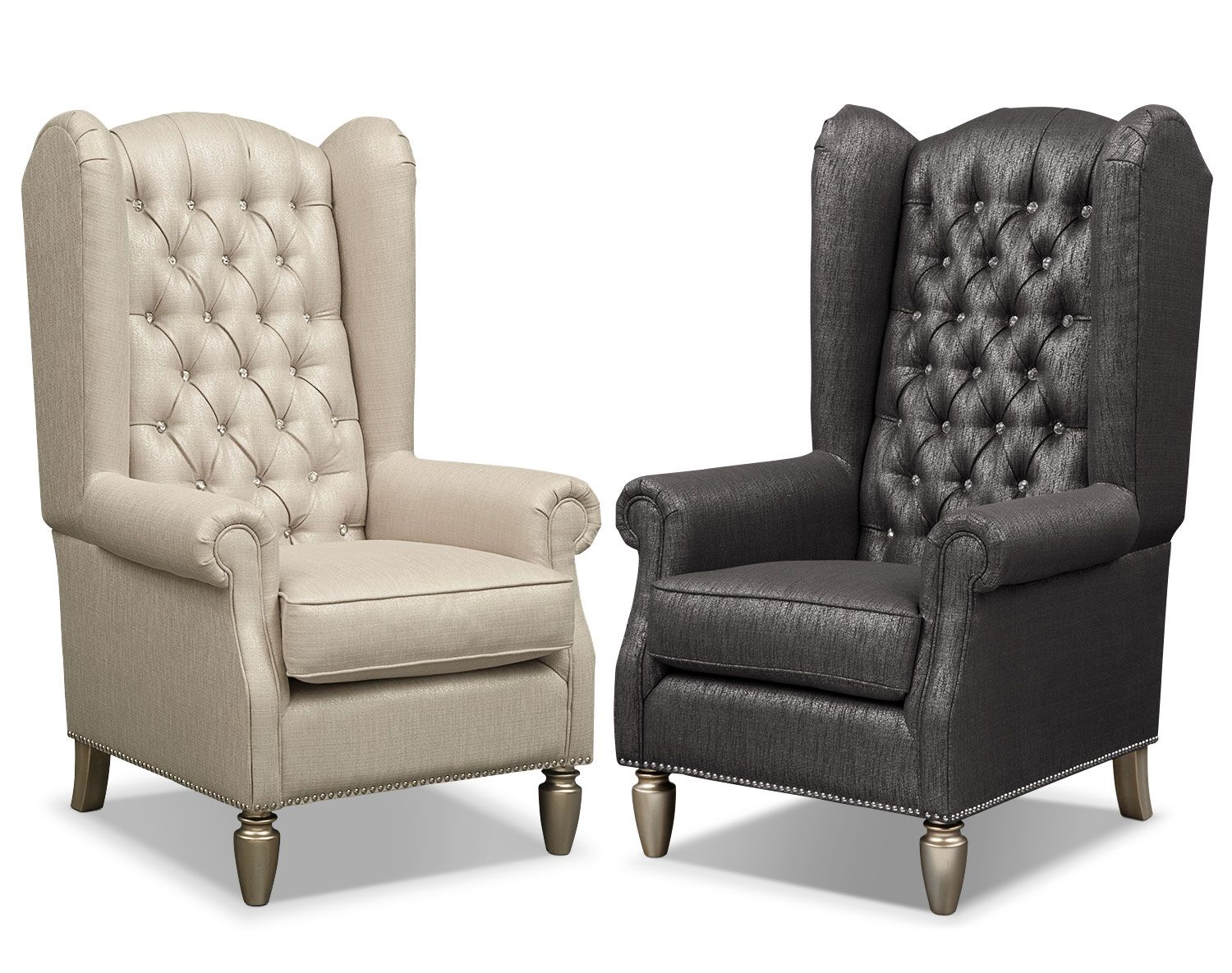 Bedazzled Bejeweled The Cleo Accent Chair Collection