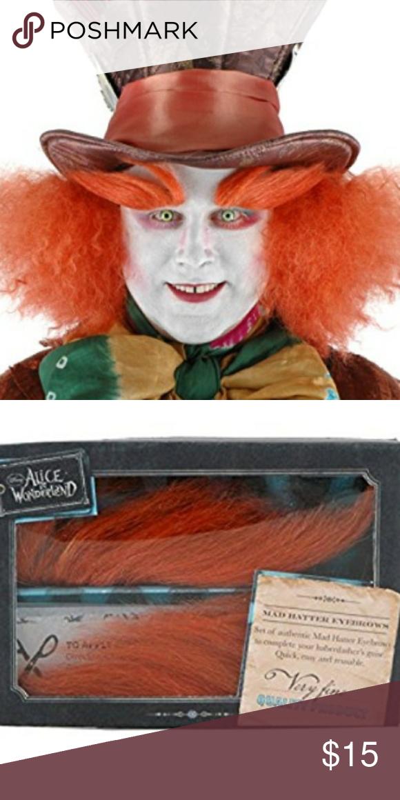 Alice In Wonderland Madhatter Eyebrows Alice In Wonderland Eyebrows Mad Hatter