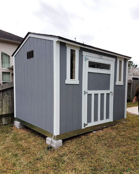 Wouldn T This Shed Make A Great Workshop With Secure Transom Windows It Will Let In Plenty Of Natural Light Whi Backyard Storage Sheds Backyard Storage Shed