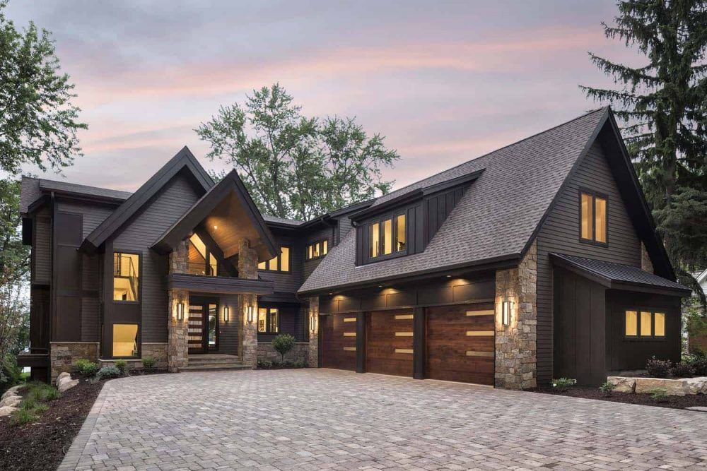 40 Best Modern House Design For Your Dream Home Modern Lake House House Designs Exterior Rustic Houses Exterior