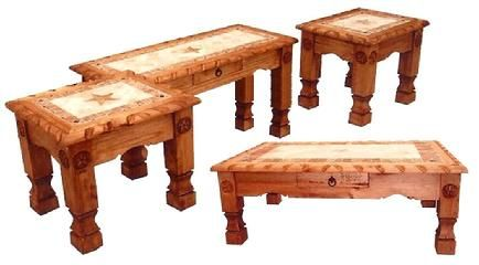 Marble Star Occasional Tables   Rustic Furniture Depot