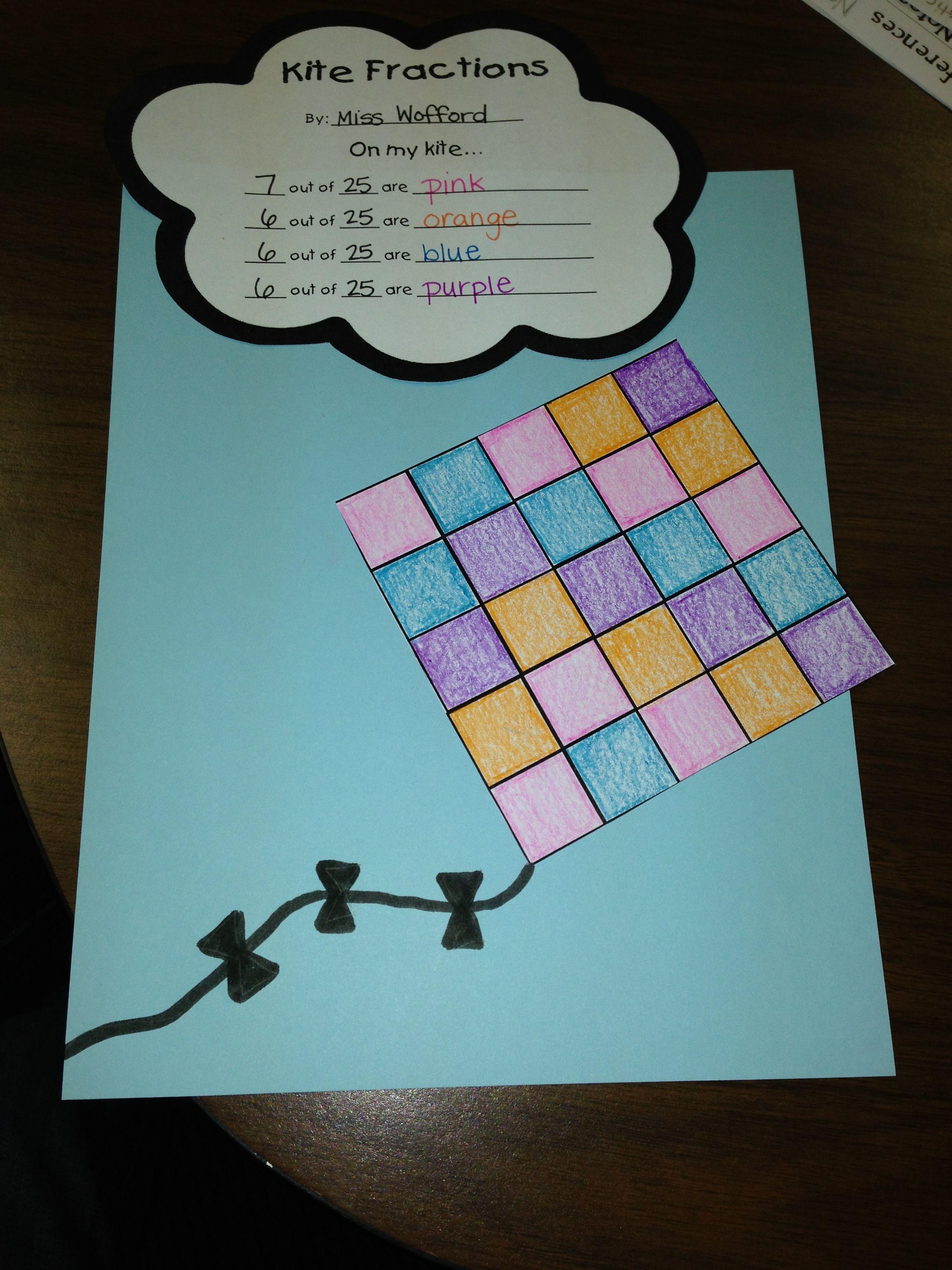 Fractions- first grade | Math | Pinterest | Math, Math fractions and ...