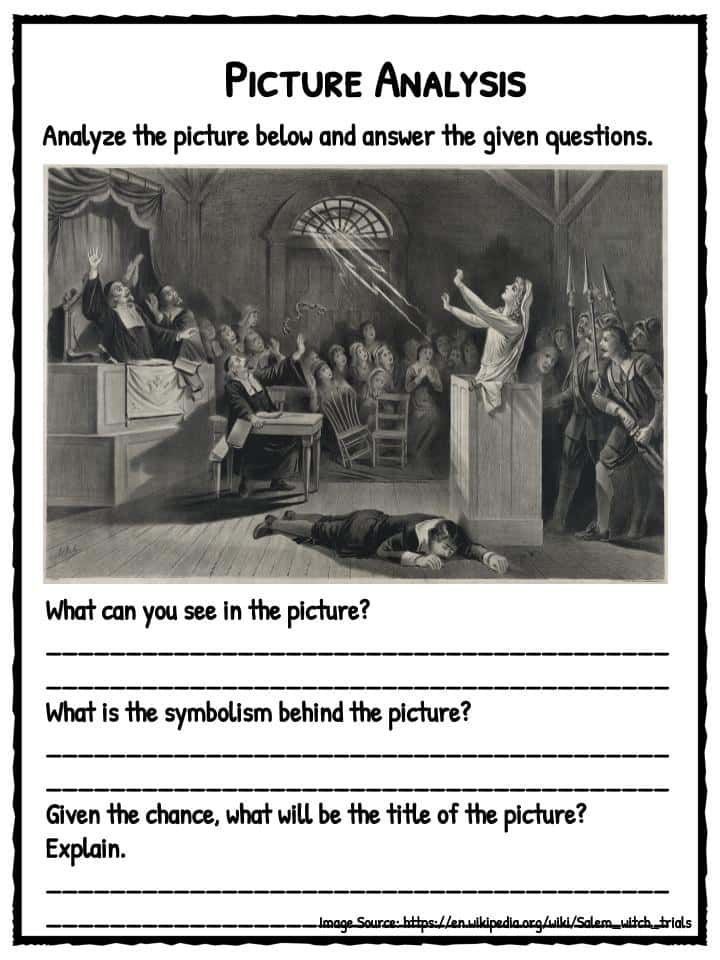 Salem Witch Trials Facts, Worksheets & Information For