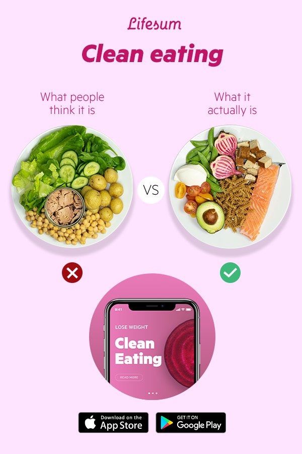 The Clean Eating Diet App That Will Change Your Life Clean Eating Diet Clean Eating Diet Plan Clean Eating