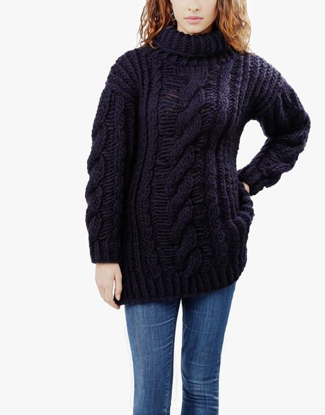 01 river night sweater spaceblack