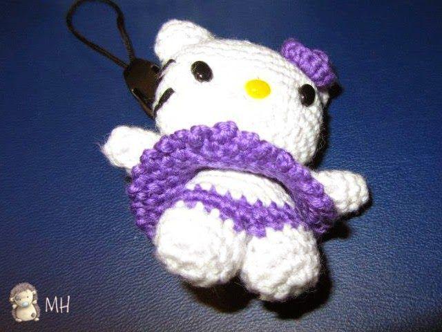 Patrones de ganchillo Hello Kitty Amigurumi gratis - Juguete de ... | 480x640