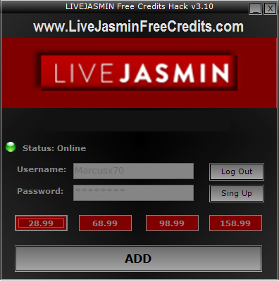 Download this free Live Jasmin Hack instantly, no survey no nothing! Just download it below and get unlimited credit instantly! This hack from us is the only program for Live Jasmin that actually works. With …