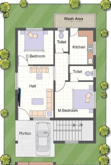 Readymade Floor Plans Readymade House Design Readymade House Map Readymade Home Plan 2bhk House Plan House Map 20x30 House Plans