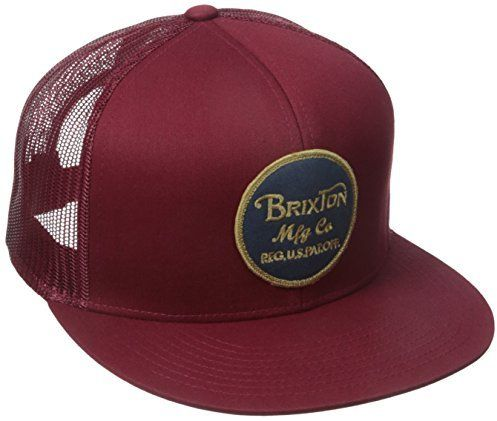 cf8c73eb24c Brixton Men s Wheeler Medium Profile Adjustable Mesh Hat