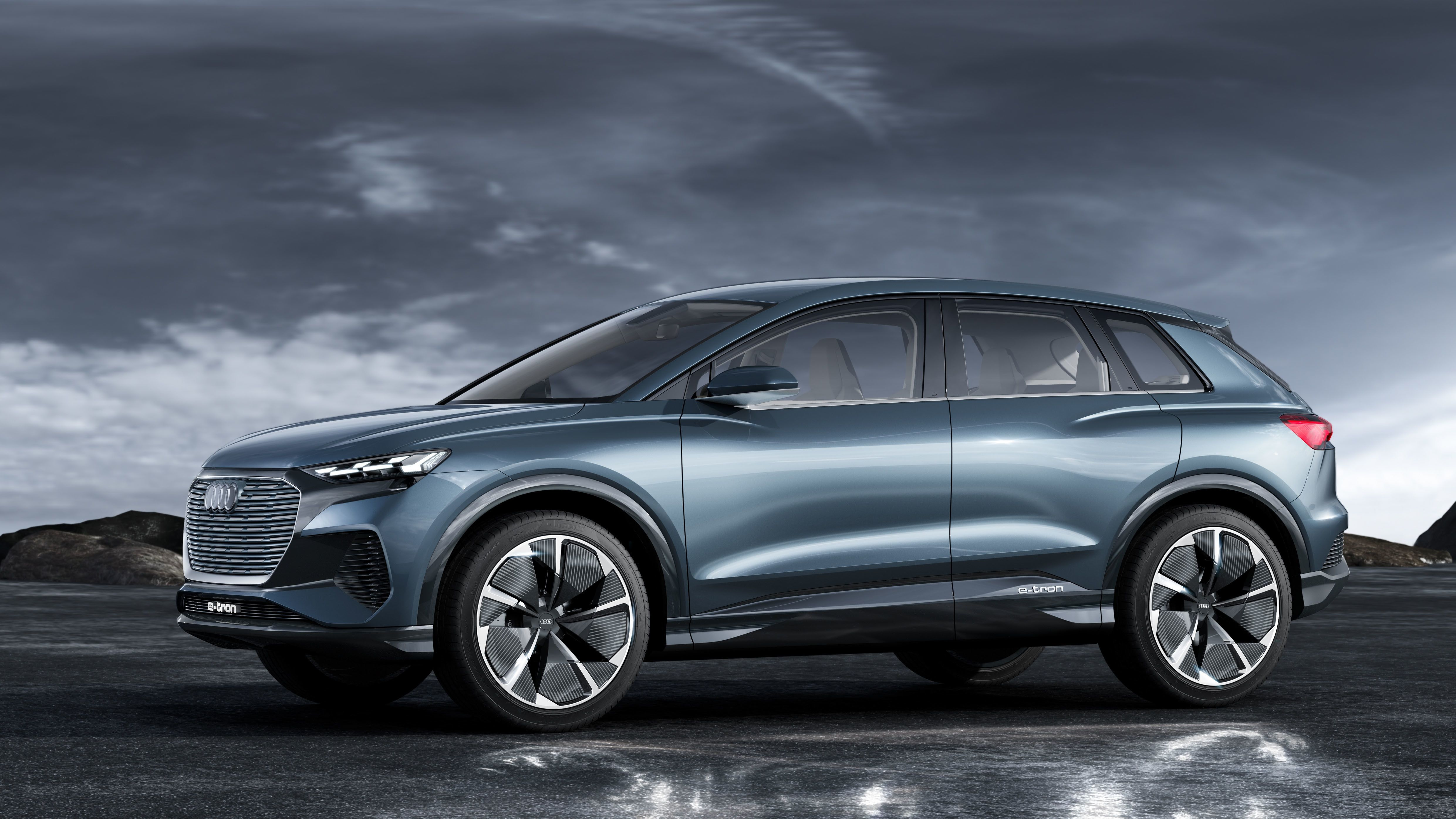 Audi S Baby Q4 E Tron Electric Suv Is Here And Looks Amazing The Conceptual Phase