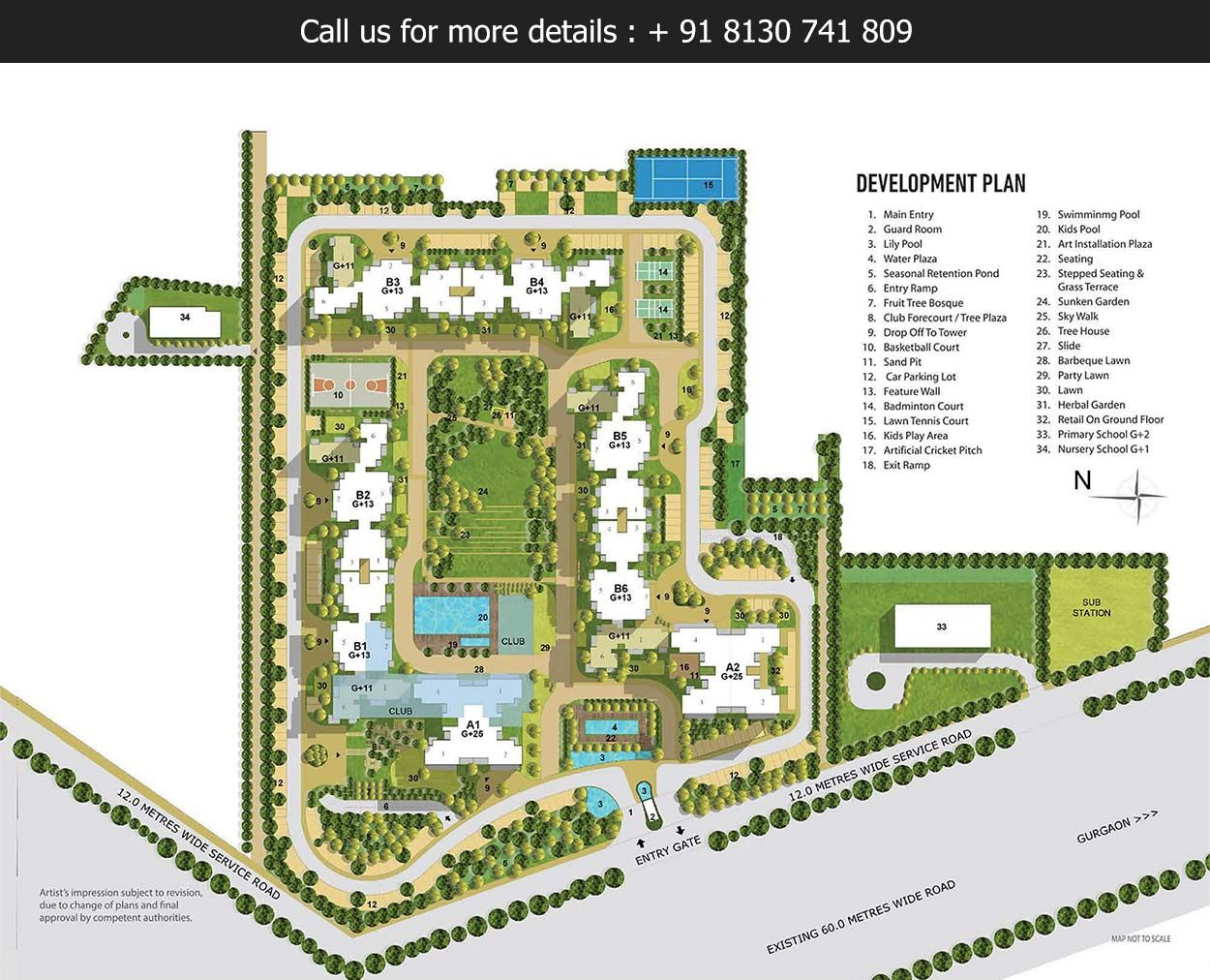 TATA La VIDA Master Plan - a 12 acres residential development ...