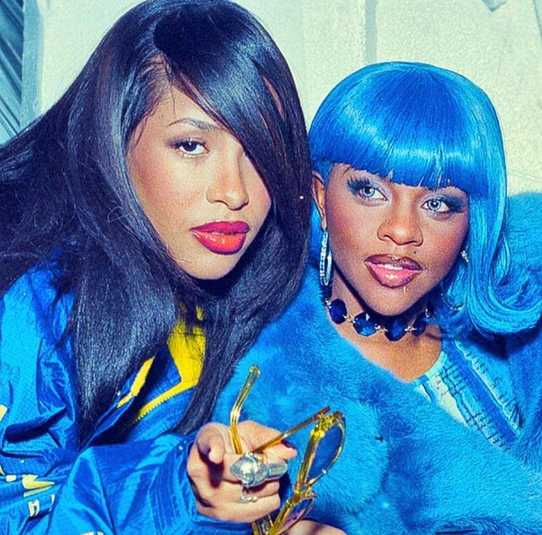 Aaliyah Lil Kim Lil Kim Lil Kim 90s Aaliyah