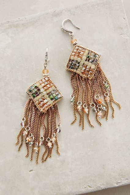 Meadowhill Fringe Earrings - anthropologie.com #anthrofave