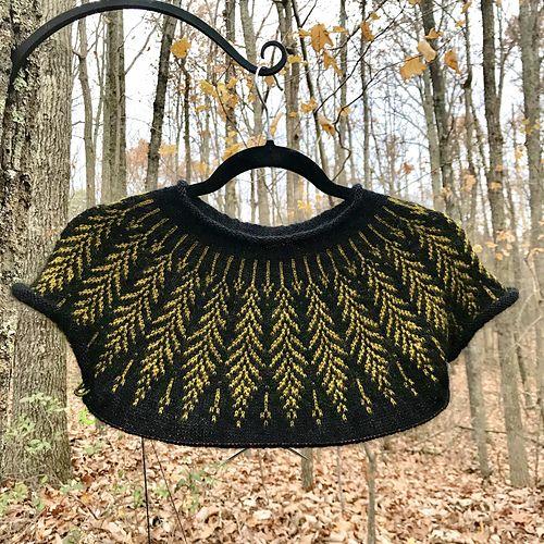 Photo of Brightfeather pattern by Jennifer Steingass