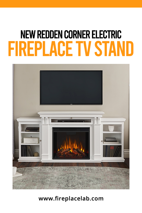 New Redden Corner Electric Fireplace Tv Stand In 2020 Electric Fireplace Tv Stand Fireplace Tv Stand Corner Electric Fireplace