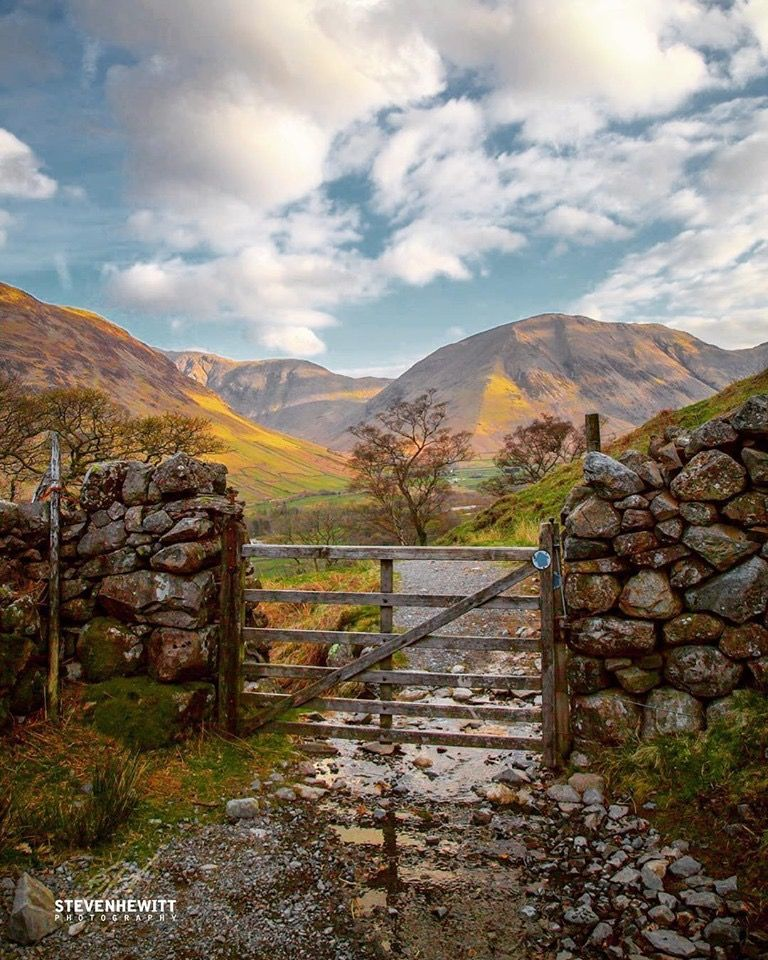 On The Walk Up To Scafell Pike At Wasdale Lake District England Lake District England Lake District Scenery